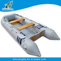 2015 China Factory CE Certificate Rigid Aluminum 1.2mm PVC Inflatable Boating For Fishing