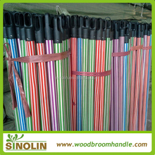 pvc covered wood stick wooden broom stick