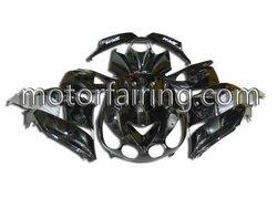 Motorcycle Fairings For kawasaki ZX14 ZX-14R 06-09 Black custom fairing kit Ninja