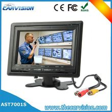 "7"" lcd monitor bus cctv camera system 7 inch rearview mirror monitor hd"