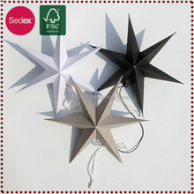 Happy lucky star folding paper