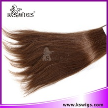 Non-Remy and Wholesale straight wave100% Chinese Human Hair Weft Hair Extensions