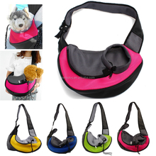 Eco Friendly Polyester Traveling Messenger Dog Cat Pet Carry Bag