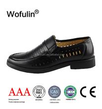 mens loafer wholesaler original leather shoes/brand names mens leather shoes OEM/mens genuine leather shoes