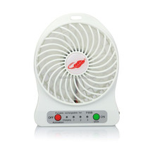 "Rechargeable lithium Fan Travelling & Camping Gifts 4"" Battery Operated Portable Mini Fans"