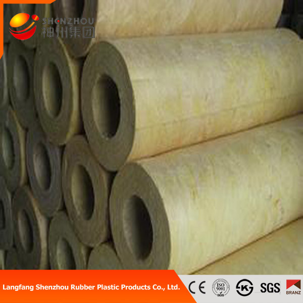 Mineral wool pipe insulation for Rockwool pipe insulation prices