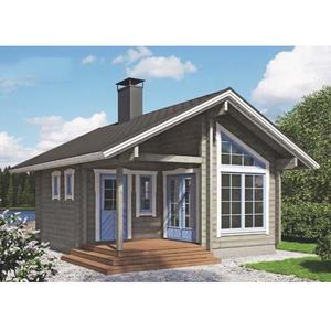 La lengua y diseño de ranura jardín casa Cabaña Casa Jardín ruso de casas prefabricadas de madera