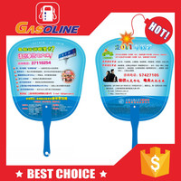 Hot sell excellent best sell pp fan with famous people printed on