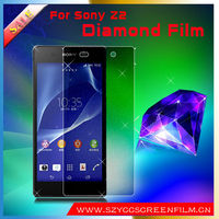 Stylish For Sony Xperia Z2 Diamond Film Screen Protectors with Good Quality