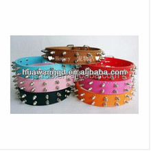 pitbull leather dog collars with spikes