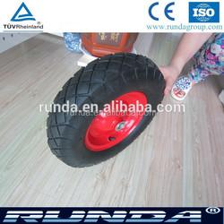 High Quality Small Pneumatic Rubber Wheels For Wheelbarrow Trolley
