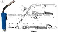 HOT SALES OTC Welding Guns for Metal Materials