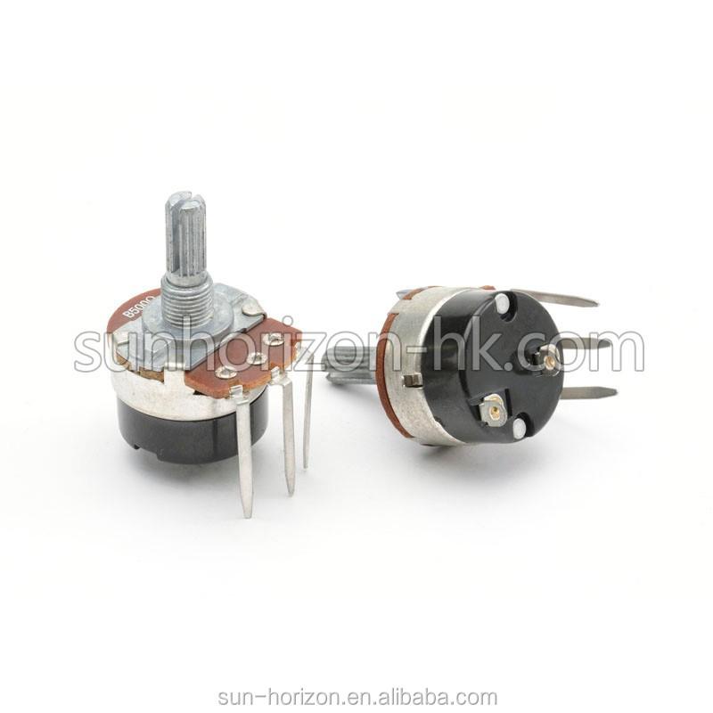 Thumb Wheel Rotary 10k 100k 200k 500k 1m Potentiometer