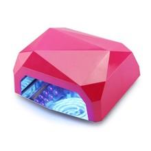Benice LED + CCFL lampe UV pour la maison 18 W et 36 W UV NAIL GEL sèche -