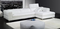 JR8022 alibaba stylish modern living room Italy genuine cow white leather recliner function comfirtable sofa