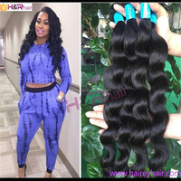 """factory price 7A virgin human hair loose wave 300 gram 10""""-36""""inch with free shipping"""
