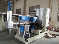 ML130 plastic films recycling granulator double stage
