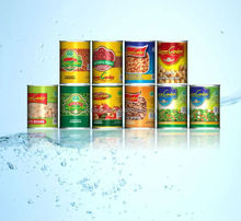 Cheap wholesale take away vegetable products in Tin package