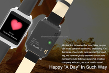 2015 NEW i95 + Bluetooth WIFI Smart Watch Xburst 1.2GHz Dialing SMS Heart Rate+Sleep Monitor Pedometer for Android iOS