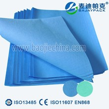 many colors sterilization wrapping paper for hospital