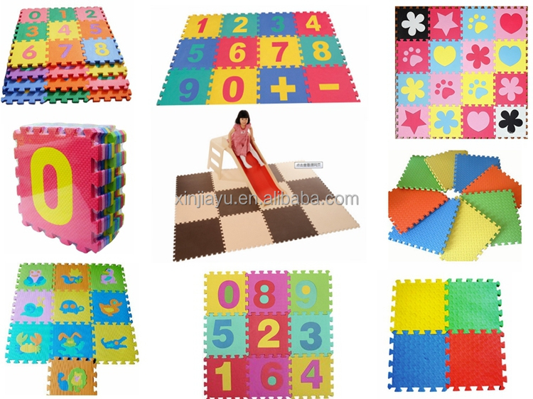 eva schaum verriegelung puzzle matten f r kinder wasserdichte bunte muster floot matten f r. Black Bedroom Furniture Sets. Home Design Ideas