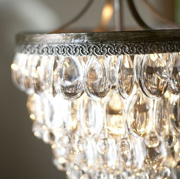 lampadari di lusso : elegante luce di cristallo per lampadari di cristallo di lusso camera ...