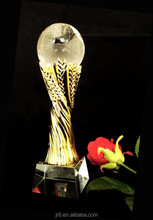 Wholesale Glass Crystal Awards Plaque,Fashion Glass Trophy
