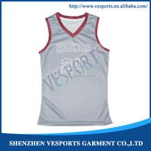wholesale custom printed Canada school basketball jerseys