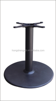 HS-A003 heavy duty Round table base sculpture for Glass table