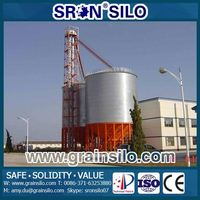 Hot Galvanized Assembly Bolt Grain Storage Bins Used For Sale