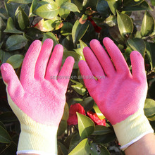 High Quality black Latex Coated construction Working Gloves