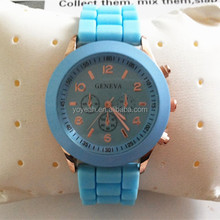 YX6001 Stock Cheap Sell Silicone Own Geneva Brand Watches Brands