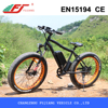 26 inch 500W electric beach cruiser bicycle motor chain drive with EN15194