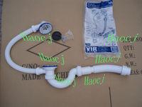 Drain waste cleaning machines/flexible drain pipe for bathtub bathroom drain crinkle hose