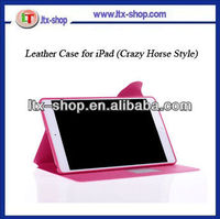 Hard waterproof case ,Cover case for apple ipad5,Smart cover leather case for ipad 5