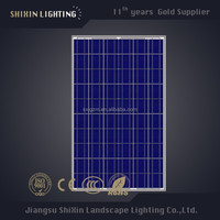 Newly 250w poly solar modules pv panel with full certificate