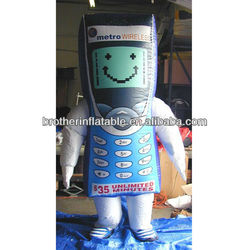Action Costume Giant Inflatable Mobile Phone