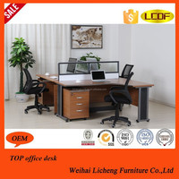 New Hot Sale Small Office Meeting Table With Wooden Legs
