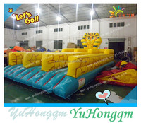 crazy fun kids and adults inflatable bungee run, bungee run for sale