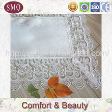 embroidery with lace tablerunner table cover elegant wedding table linens