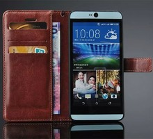 for HTC826 case with card slot book ID wallet flip leather case cover, wallet case for HTC826
