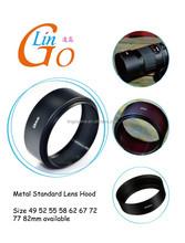 58mm Professional Standard Metal Lens Hood 58mm Screw In 58mm Filter Thread Lens