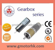 12v low speed high torque dc gearbox gear motor