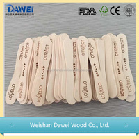 china wholesale original color wood spoon
