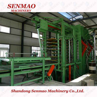 annual capacity 10000-150000cbm particle board plant/wood particle board machine