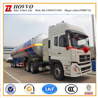 China ISO BV CCC CERTIFICATION LPG truck trailer tank, lpg bullet trailer 40CBM, 50CBM, 56CBM, 58CBM, 60CBM