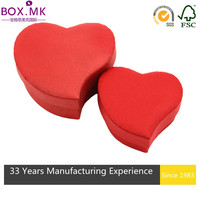 Best Selling Red Heart Lacquer Jewelry Box
