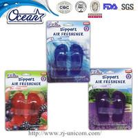 OS1154 shoe shape car hanging air freshener/ solid air freshener