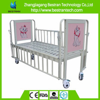 China Supplier BT-AB002 one crank hospital Paediatric bed children hospital beds kid sleeping cot