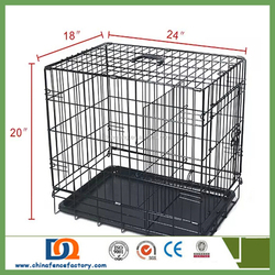 "Hot Sale (20"", 24"", 30"", 36"", 42"", 48"") Metal Dog Cage For Sale Cheap, Dog Crates, Dog Kennel"